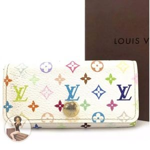 Louis Vuitton Monogram Multicolor Ring Key Case